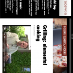 Sideways Screen Shot Grilling 2